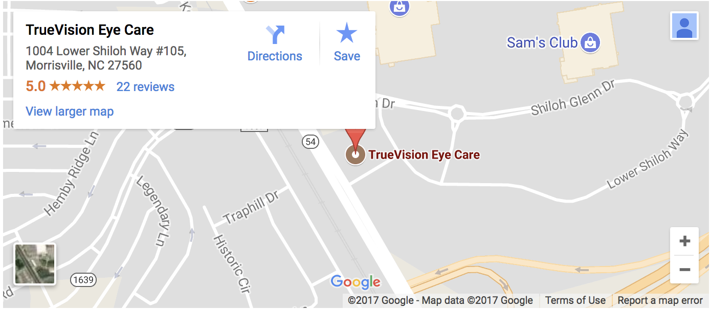 Large google map of TrueVision